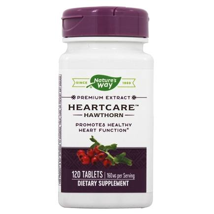 Nature's Way - Heart Care Hawthorn Extract - 120 Tablets