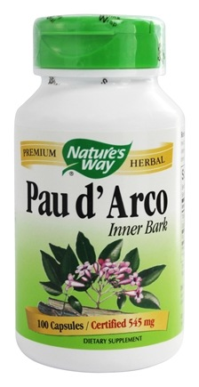 Nature's Way - Pau D'Arco Inner Bark 545 mg. - 100 Capsules