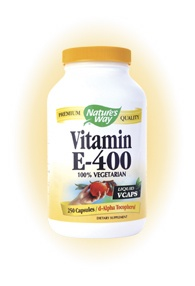 DROPPED: Nature's Way - Vitamin E-400 - 250 Vegetarian Capsules