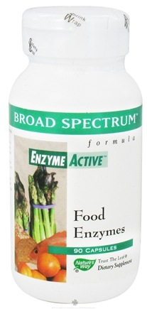 DROPPED: Nature's Way - Broad Spectrum Enzyme - 90 Capsules