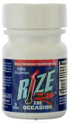 DROPPED: Rize 2 The Occasion - Rize2 The Occasion - 3 Capsules CLEARANCE PRICED