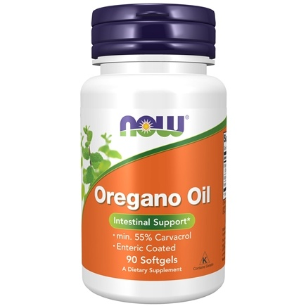 NOW Foods - Oregano Oil Enteric Coated - 90 Softgels