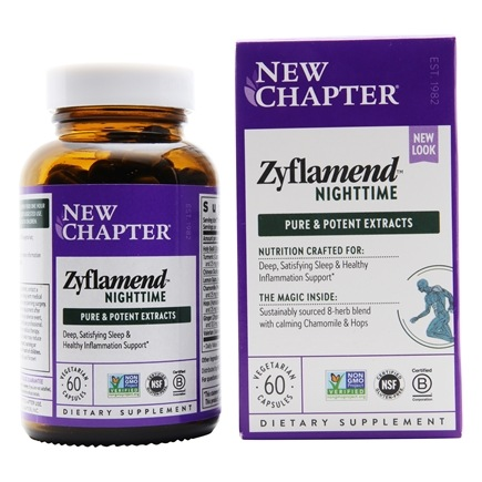 New Chapter - Zyflamend Nighttime - 60 Softgels