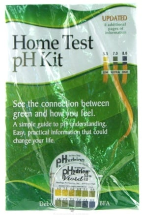 DROPPED: New Page Productions - Easy Self Home Test pH Kit with Book - CLEARANCE PRICED