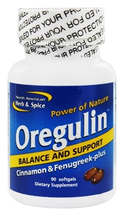 DROPPED: North American Herb & Spice - Oregulin - 90 Softgels