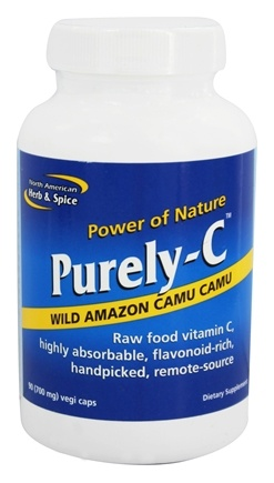 North American Herb & Spice - Purely-C - 90 Capsules