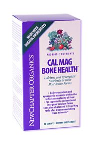 DROPPED: New Chapter - CalMag Bone Health - 30 Tablets