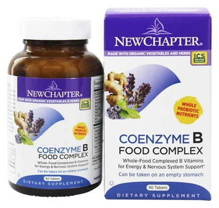 New Chapter - Coenzyme B Food Complex - 90 Tablets