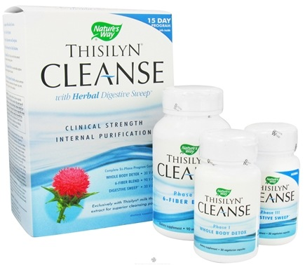 DROPPED: Nature's Way - Thisilyn Cleanse with Herbal Digestive Sweep - CLEARANCE PRICED