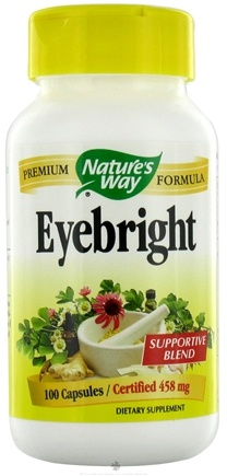 DROPPED: Nature's Way - Herbal Eyebright - 100 Capsules