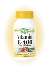 DROPPED: Nature's Way - Vitamin E-400 - 100 Vegetarian Capsules