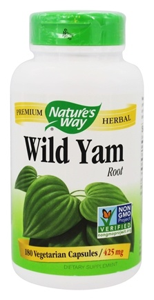 Nature's Way - Wild Yam Root 425 mg. - 180 Vegetarian Capsules