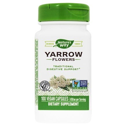 Nature's Way - Yarrow Flowers 325 mg. - 100 Capsules