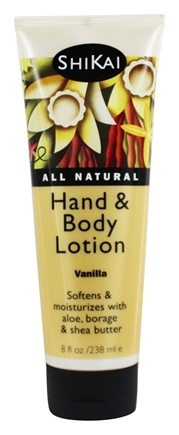 Shikai - Hand & Body Lotion Vanilla - 8 oz.