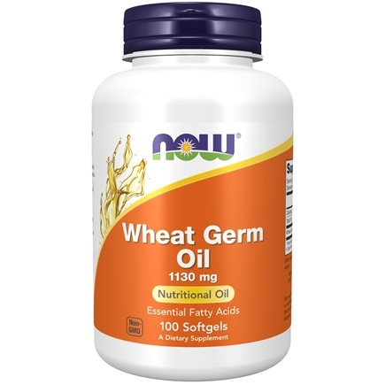 NOW Foods - Wheat Germ Oil 20 Minims - 100 Softgels
