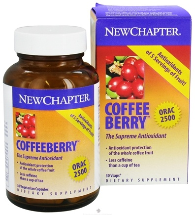 DROPPED: New Chapter - Coffeeberry The Supreme Antioxidant - 30 Vegetarian Capsules