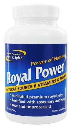 North American Herb & Spice - Royal Power - 120 Capsules