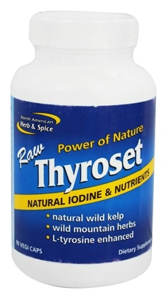 DROPPED: North American Herb & Spice - Thyroset - 90 Capsules