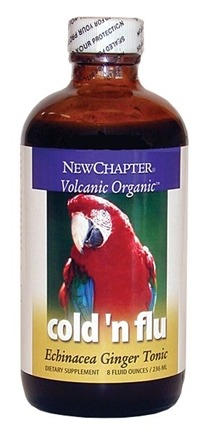 DROPPED: New Chapter - Cold N' Flu - Echinacea Ginger Tonic - 4 oz. CLEARANCE PRICED