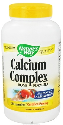 DROPPED: Nature's Way - Calcium Complex Bone Formula - 250 Capsules CLEARANCED PRICED