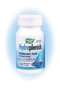 DROPPED: Nature's Way - Hydraplenish with MSM - 30 Vegetarian Capsules