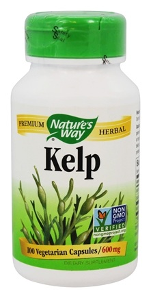 Nature's Way - Kelp 600 mg. - 100 Capsules