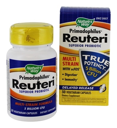 DROPPED: Nature's Way - Primadophilus Reuteri - 30 Capsules