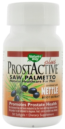 DROPPED: Nature's Way - ProstActive Plus (Saw Palmetto) - 50 Softgels