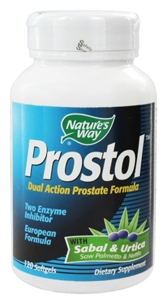 Nature's Way - Prostol with Saw Palmetto & Nettle - 120 Softgels