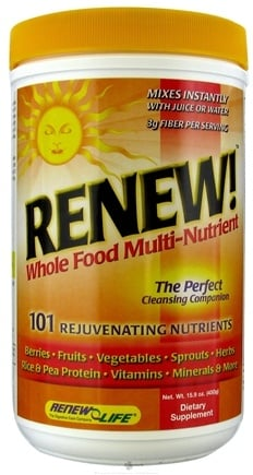 DROPPED: ReNew Life - Renew Whole Food Multi-Nutrient - 450 Grams