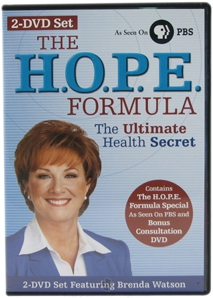 DROPPED: ReNew Life - The HOPE Formula by Brenda Watson 2-DVD Set - HOLIDAY PRICED