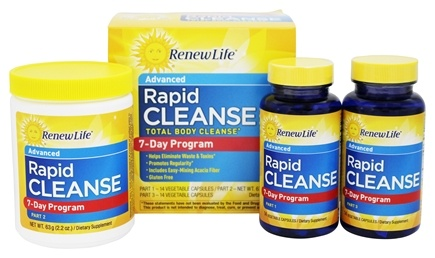ReNew Life - Total Body Rapid Cleanse Kit