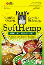 DROPPED: Ruth's Hemp Foods - Soft Hemp Shelled Hemp Seed - 2 oz.
