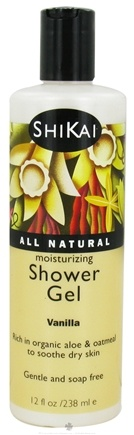 Shikai - Moisturizing Shower Gel Vanilla - 12 oz.