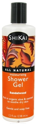 Shikai - Moisturizing Shower Gel Sandalwood - 12 oz.