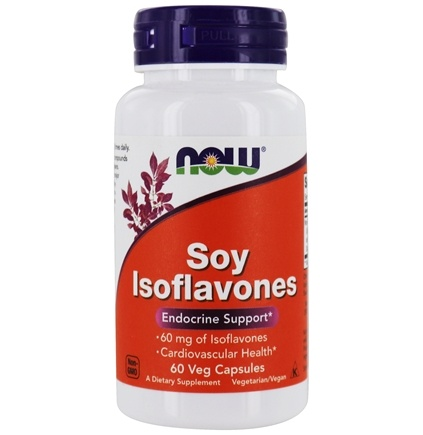 NOW Foods - Soy Isoflavones 150 mg. - 60 Vegetarian Capsules