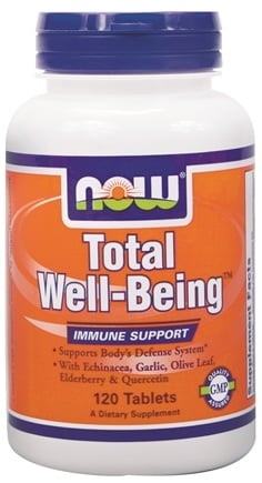 DROPPED: NOW Foods - Total Well-Being - 120 Tablets