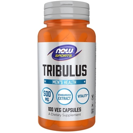 NOW Foods - Tribulus 500 mg. - 100 Capsules