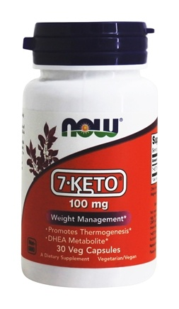 NOW Foods - 7-Keto 100 mg. - 30 Vegetarian Capsules
