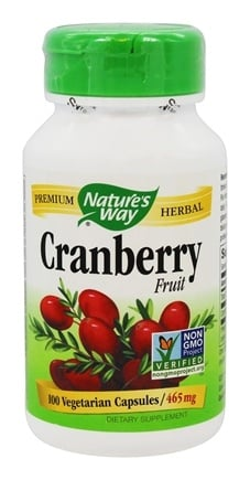 Nature's Way - Cranberry Fruit 465 mg. - 100 Vegetarian Capsules