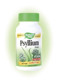 DROPPED: Nature's Way - Psyllium Husks 525 mg. - 100 Vegetarian Capsules