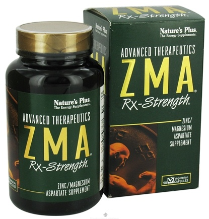 DROPPED: Nature's Plus - Zma Rx Strength - 90 Vegetarian Capsules CLEARANCE PRICED