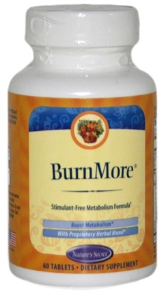 DROPPED: Nature's Secret - Burn More - 60 Tablets