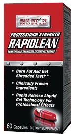 DROPPED: Six Star Pro Nutrition - Advanced Rapidlean Accelerated Weight Loss Formula - 60 Capsules