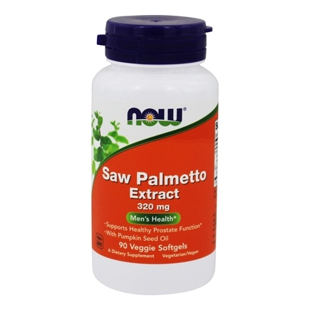 NOW Foods - Saw Palmetto Extract 320 mg. - 90 Vegetarian Softgels