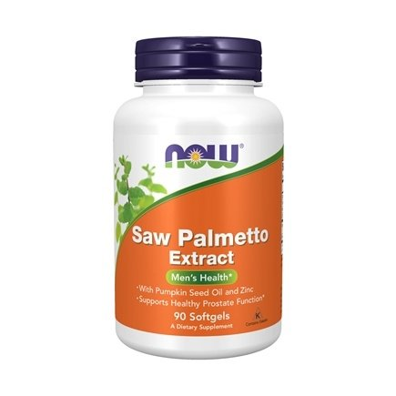 DROPPED: NOW Foods - Saw Palmetto Extract 80 mg. - 90 Vegetarian Softgels