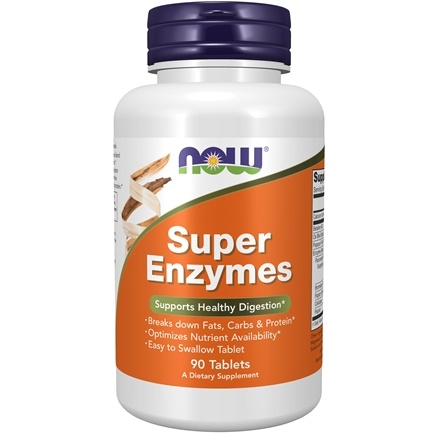 NOW Foods - Super Enzymes - 90 Tablets