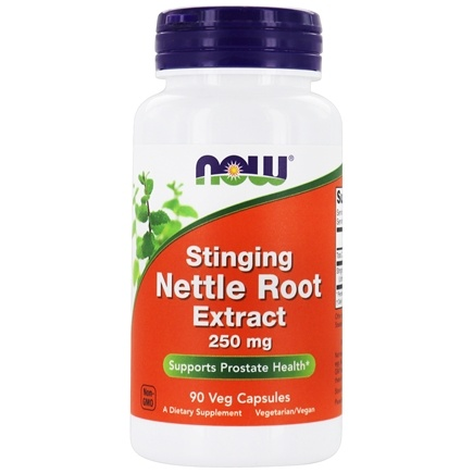 NOW Foods - Nettle Root Extract Vegetarian 250 mg. - 90 Vegetarian Capsules