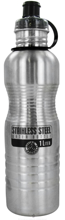 DROPPED: New Wave Enviro Products - Stainless Steel Water Bottle Steel - 1 Liter CLEARANCE PRICED