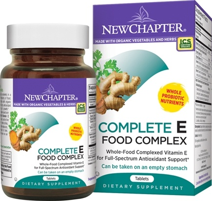 DROPPED: New Chapter - E Food Complex - 120 Tablets